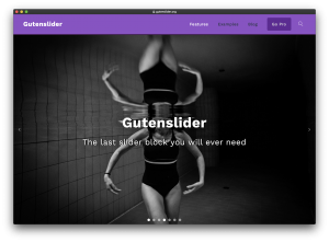 wordpress slider block gutenslider featured image